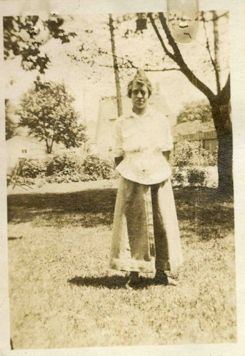 Lovice Jones. Photo courtesy of Barbara Bates Center for the Study of the History of Nursing, University of Pennsylvania School of Nursing.